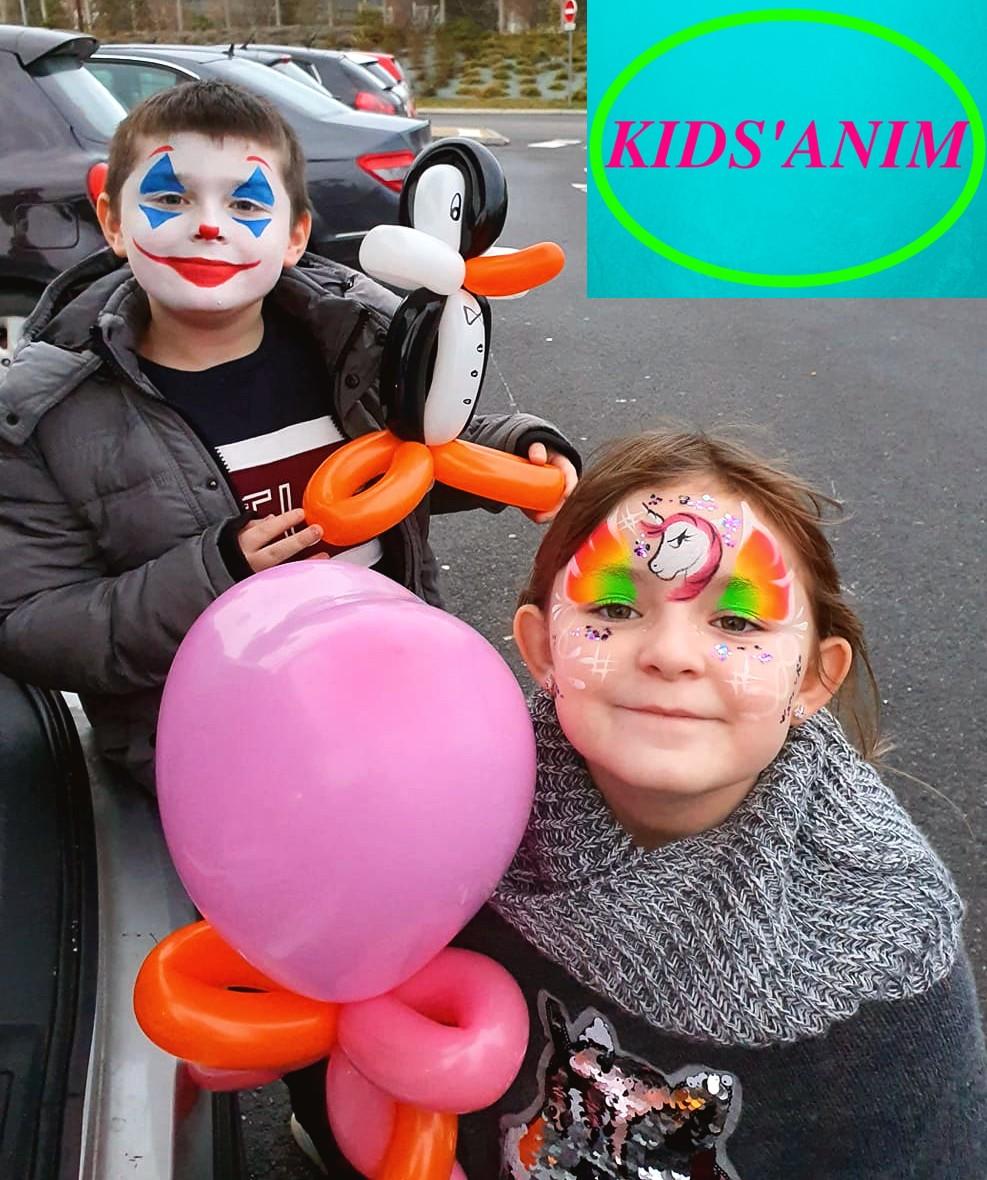 animation anniversaire enfant par Kids'Anim