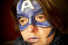 maquillage super héro