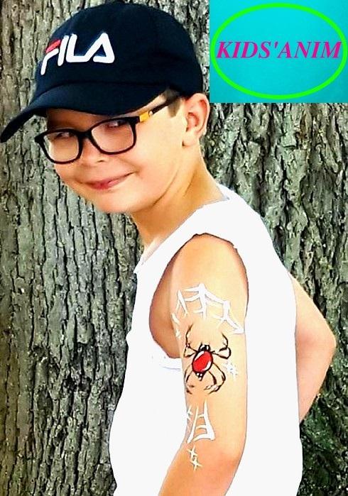 Araignée esprit Tattoo