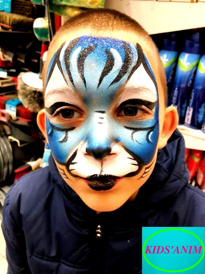 Tigre coloré