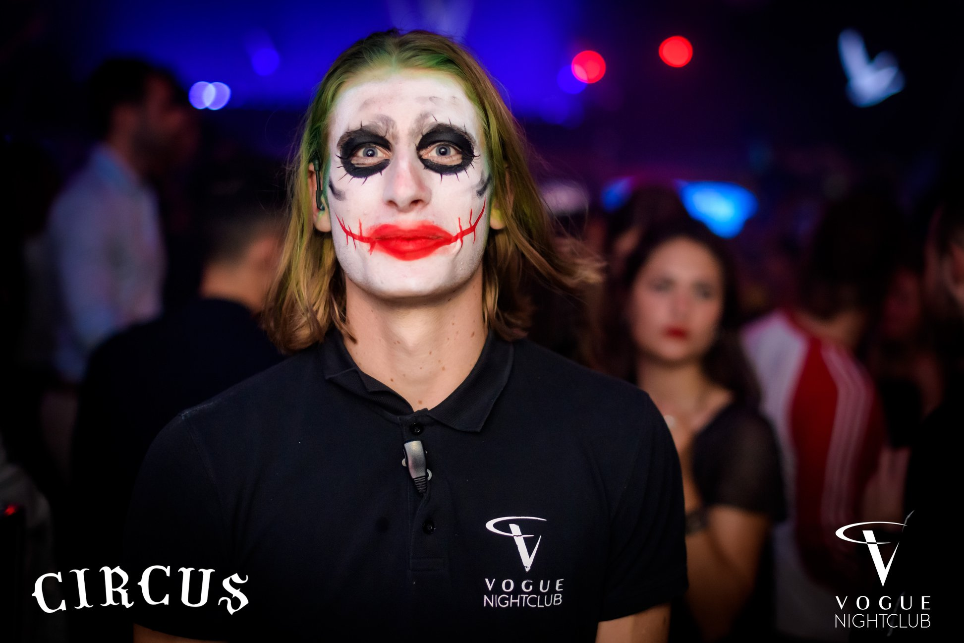 maquillage circus adulte