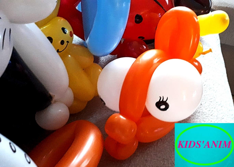 Sculptures sur ballons